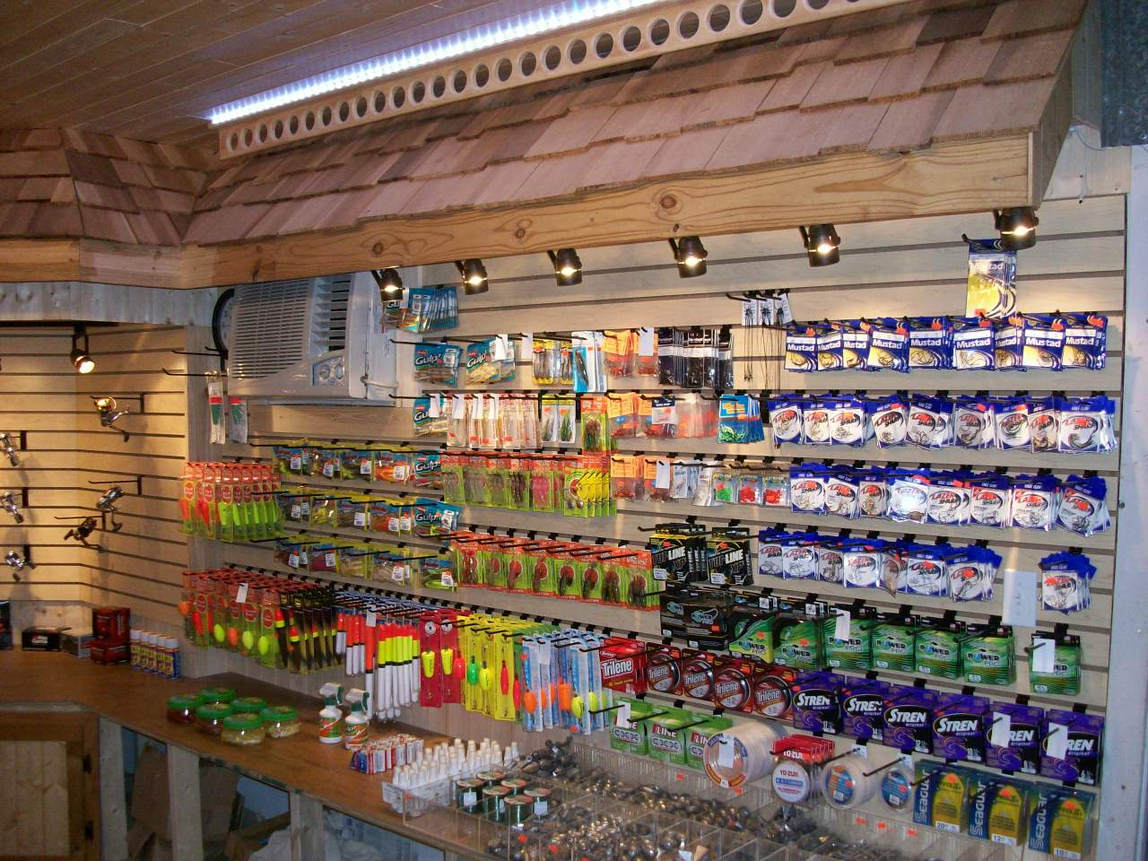 tackle supply store hickory bluff club and marina On fishing tackle stores